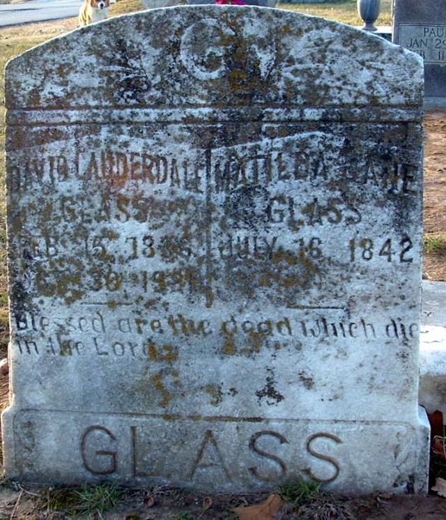 David Lauderdale Glass