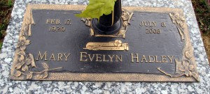 Hadley, Mary Evelyn Channell