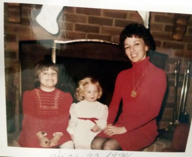 Margaret with children - ML & Alicia