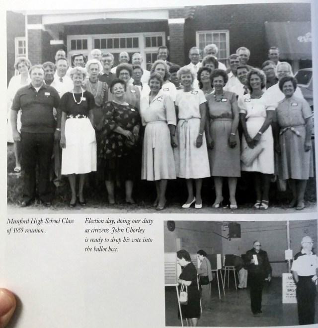 Munford High School Class of 1955