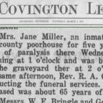 Miller Jane 1 Mar 1917
