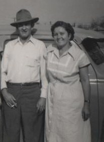 Ruba and Essie Blankenship in 1950