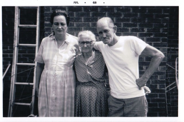 Ruby, Myrtle and Parrish Blankenship