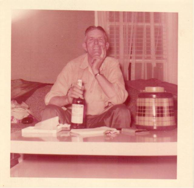 Roy Faulk Sr 1956 Mason, TN area Written by Kenny Faulk: this is my Granddaddy, Roy Faulk Sr, in Jan 1956, he was not a drinking man, having learned that I was coming in August, he was tempted
