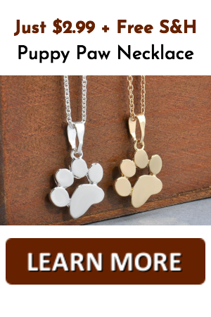 puppy necklace