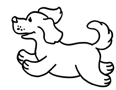 free coloring pages for boys and girls animals dogs