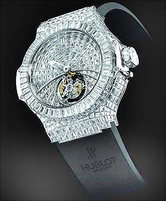 Big Bang Chronograph most expensive watch 3 Top 10 Most Expensive Watches in The World