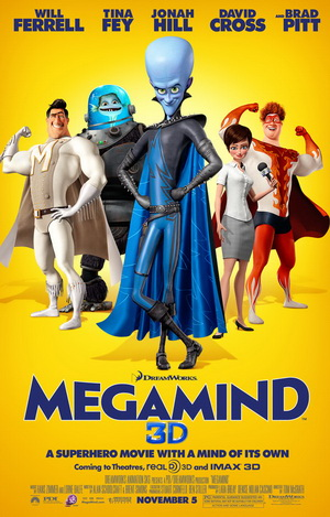 Megamind Top 10 Funniest Movies of 2010   2011