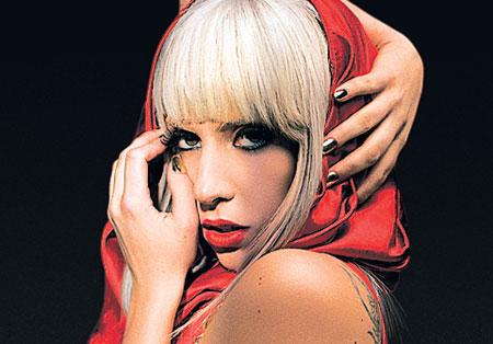 Lady Gaga Top 10 Most Popular Female Singers in 2011