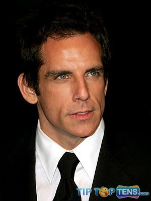 ben stiller Top 10 Richest Male Actors in The World – 2011