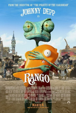 Rango Top 10 Most Funny Movies in 2011   2012