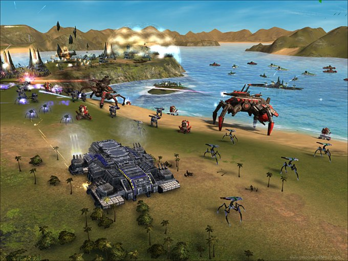 10 Best Real Time Strategy Games In 2011   unique story SUPREME COMMANDER 10 Best Real Time Strategy Games In 2011