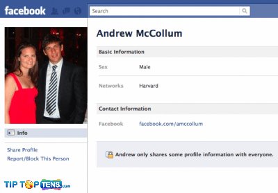 andrew mccollum 10 First People To Join The Facebook