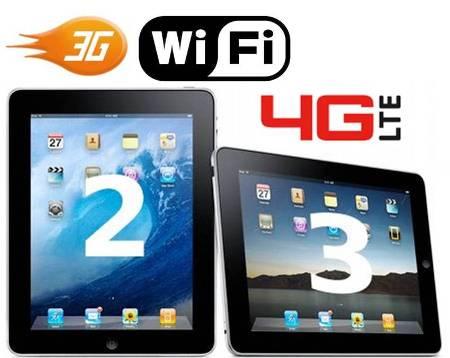 3.  Wireless Wi fi 3G4G 10 Perbedaan Antara iPad 2 dan The iPad Baru 3