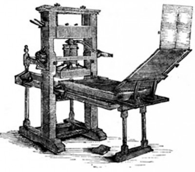 6. Printing Press e1340789751925 Top 10 Inventions that Changed the World Forever