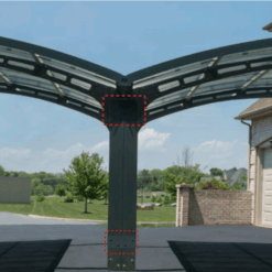 Arizona Carport EZ Link Kit - Wings