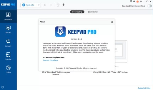 KeepVid Pro 6.3.2.0 Crack & License Key Free Download
