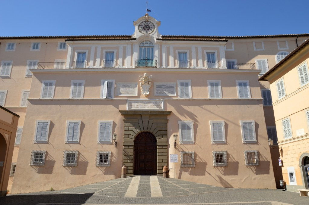 The Apostolic Palace of Castel Gandolfo seat of the Pope's holidays