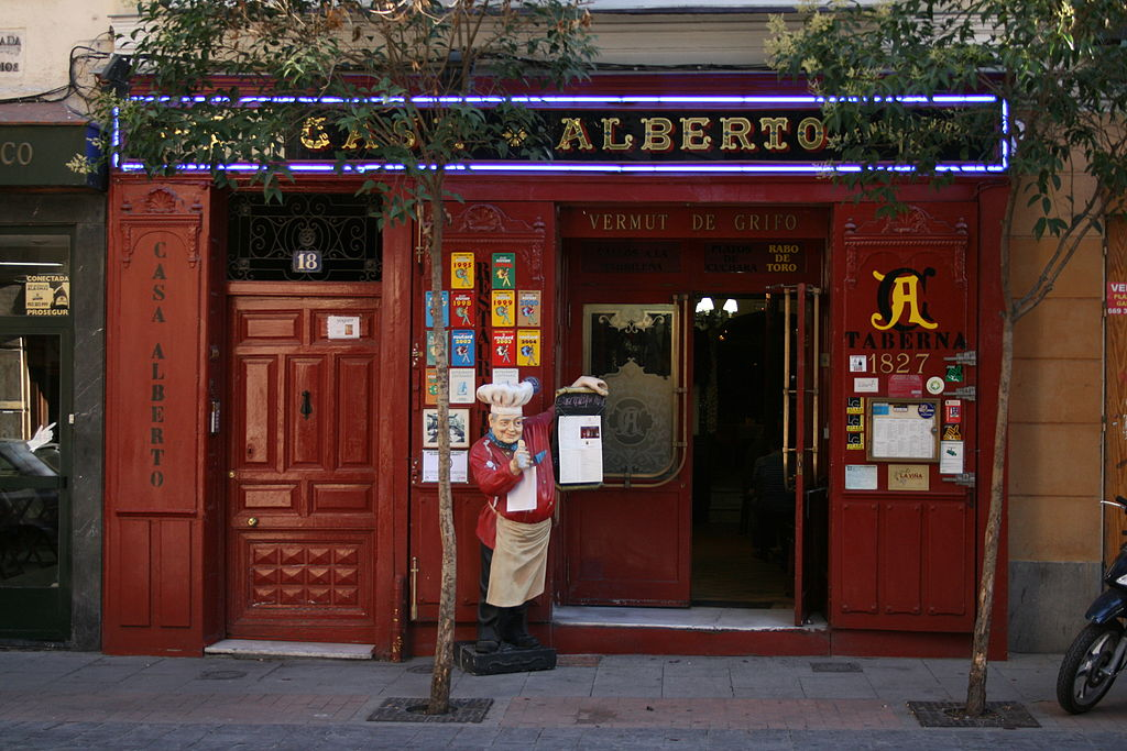 Casa Alberto, located nearby Miguel de Cervantes' house.