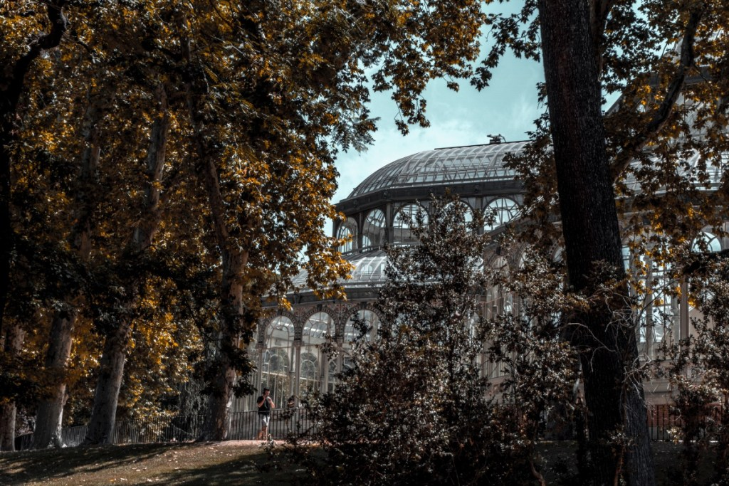 Crystal Pavillion in Retiro Park