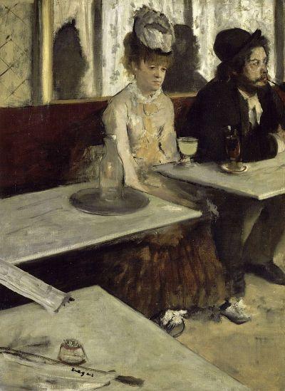 Edgar Degas - The Absinthe Drinker (Musée d'Orsay)