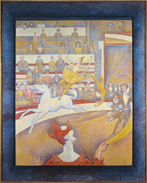 Georges Seurat - The Circus (Musée d'Orsay)