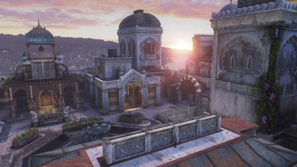 This mission in Uncharted 2 is based on the world location of the Topkapi Palace Museum.