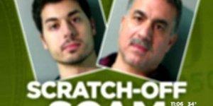 Un gérant de supérette et son fils arnaquent le gagnant d'un million