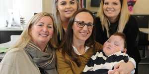 Un beau geste pour la maman d'un enfant handicapé