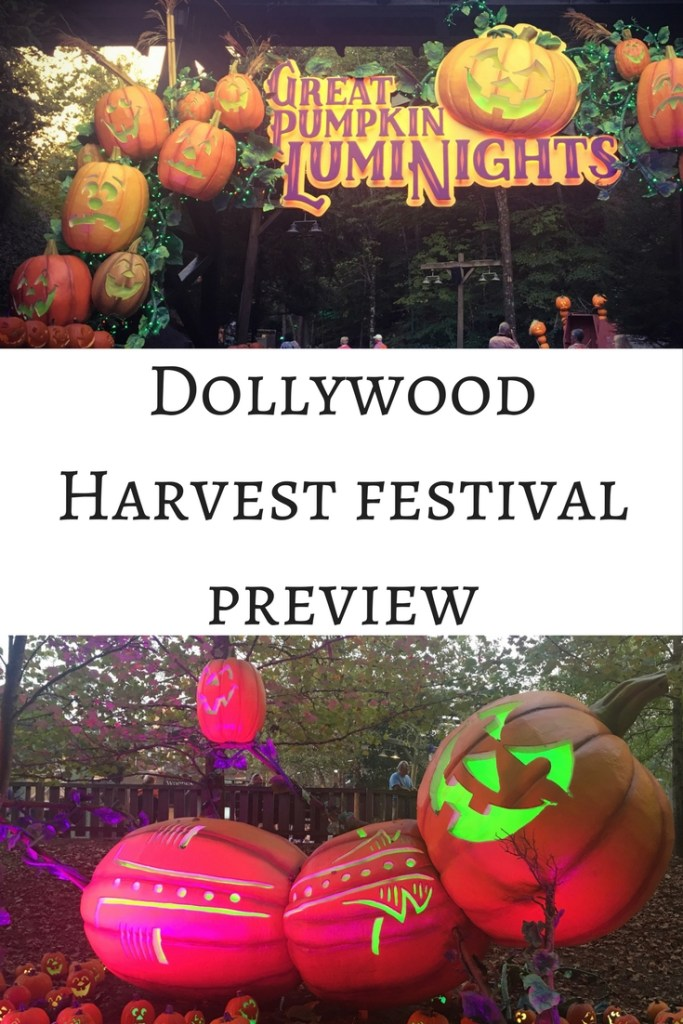Dollywood Harvest Festival Preview TiredMommyTales