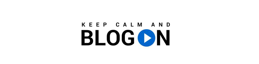 blog on logo