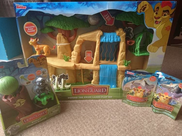 Lion Guard toy selection