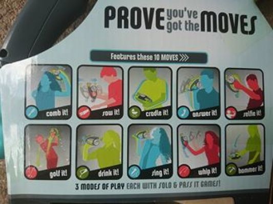 Bop It! variety of moves