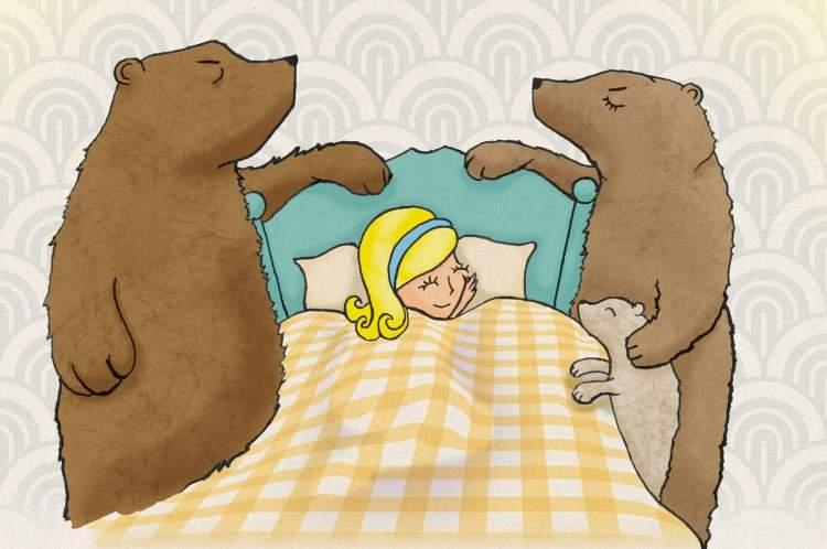 goldilocks-and-the-three-bears-illustration-richard-barrelle
