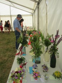 Home Industries tent at Tiree Show 2013