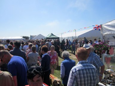 Crowd at Tiree Show 2013