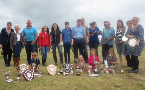 people and trophies