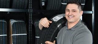 brakes tire rack