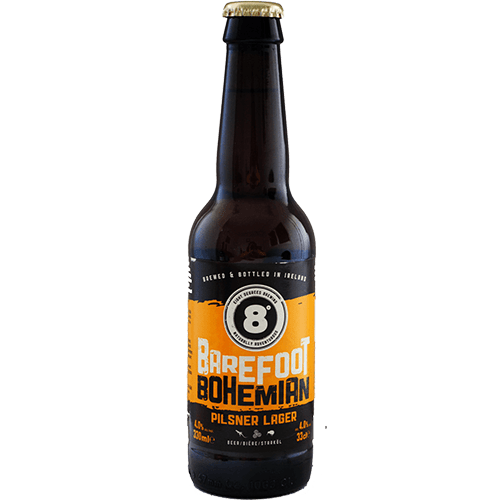Eight Degrees Bohemian Pilsner Lager