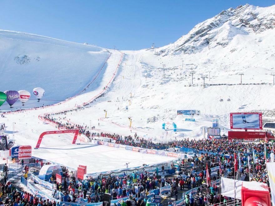 FIS Weltcup Soelden auf Oberland DABEI