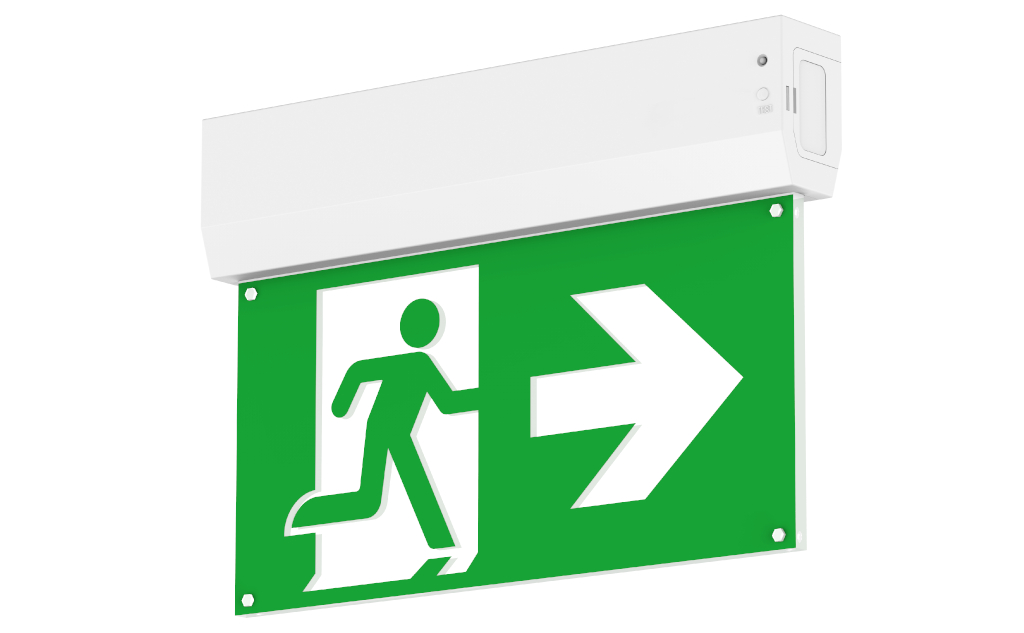 "New in: LED-Fluchtwegleuchte ""Exit"""