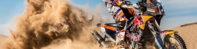 Top 5 pilotos de moto del Dakar