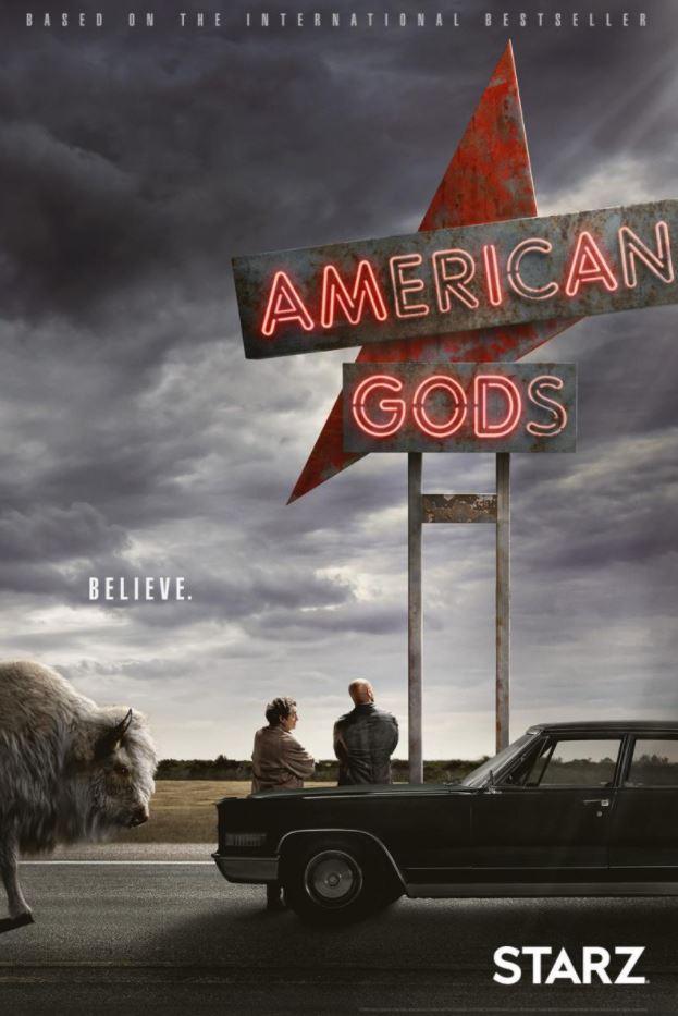 Series de drama, fantasía y misterio: American Gods