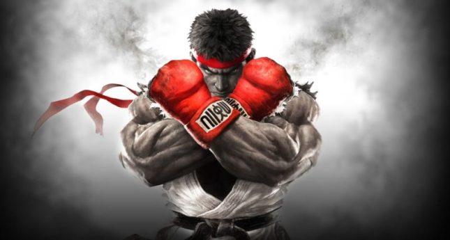 En la foto se ve a Ruy, un luchador del juego Street Fighter