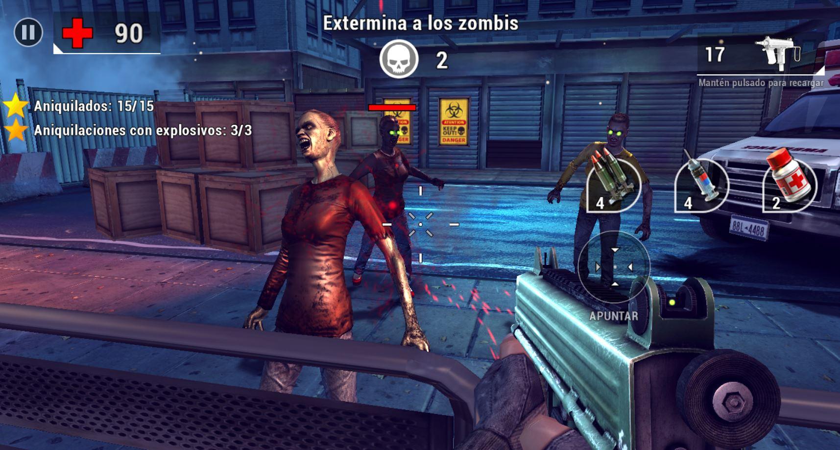 Los Mejores Juegos Gratis De Zombies Para Android Tiroriro Com