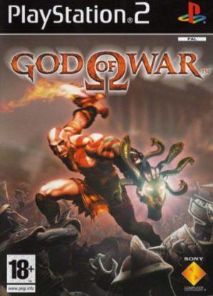 Portada del primer juego de la saga God of War