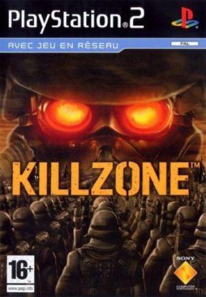 Portada del Killzone para PlayStation 2