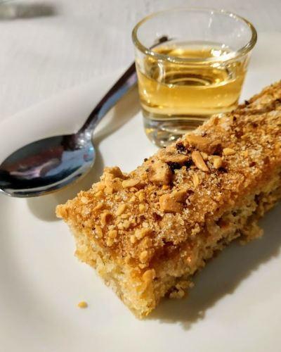 Un postre delicioso y casero el pastel de chicharrones del Montseny