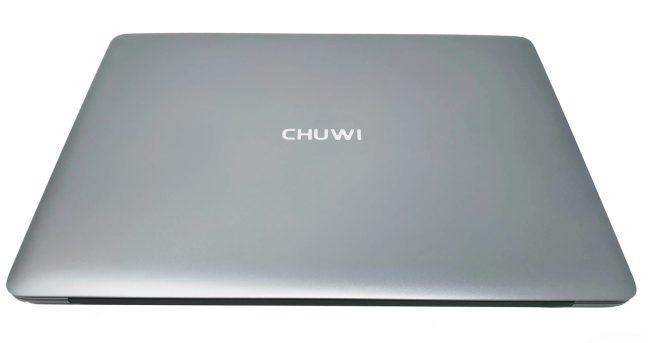 En la foto el portátil chino Chuwi LapBook SE con la tapa cerrada