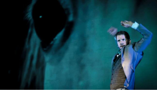 Imagen de un fragmento de la obra de teatro Federico García